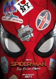 Человек-Паук тизер постер фильма Человек-Паук: Вдали от дома