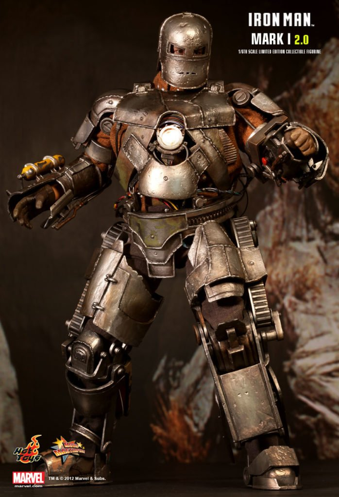 Iron Man Mark I Armor © Hot Toys Limited