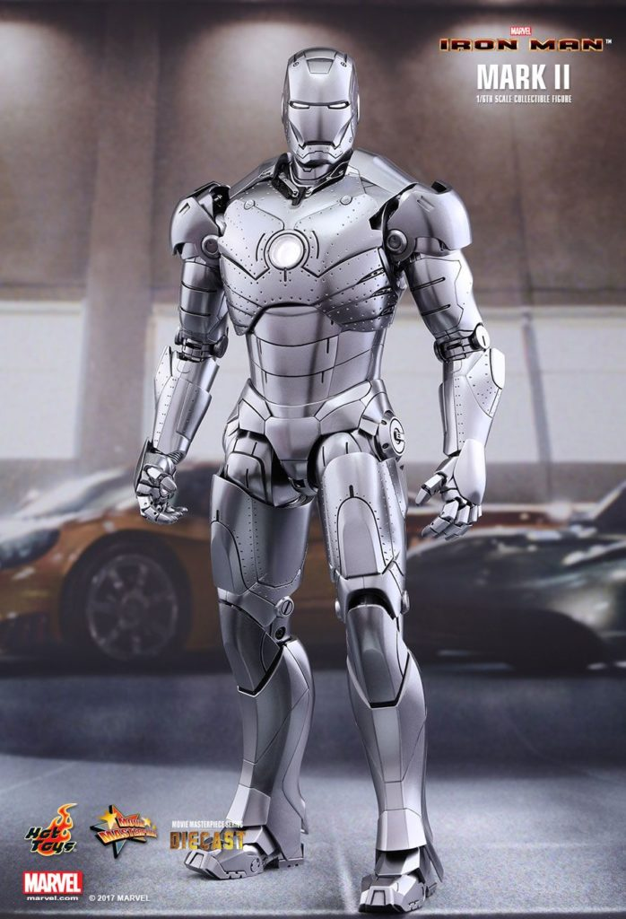 Iron Man Mark II Armor © Hot Toys Limited