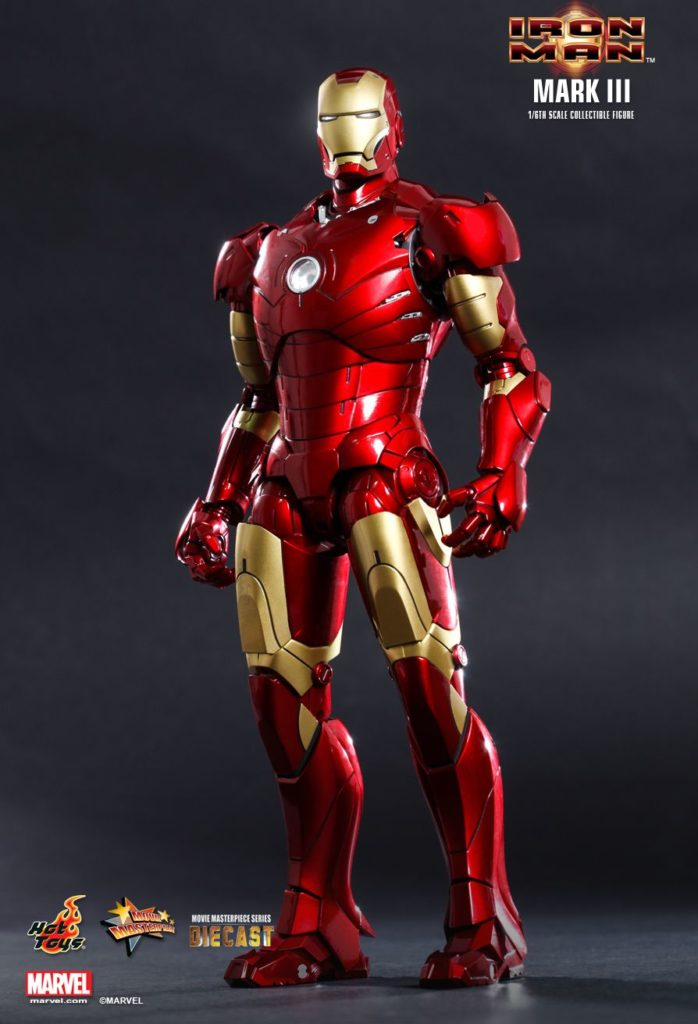 Iron Man Mark III Armor © Hot Toys Limited