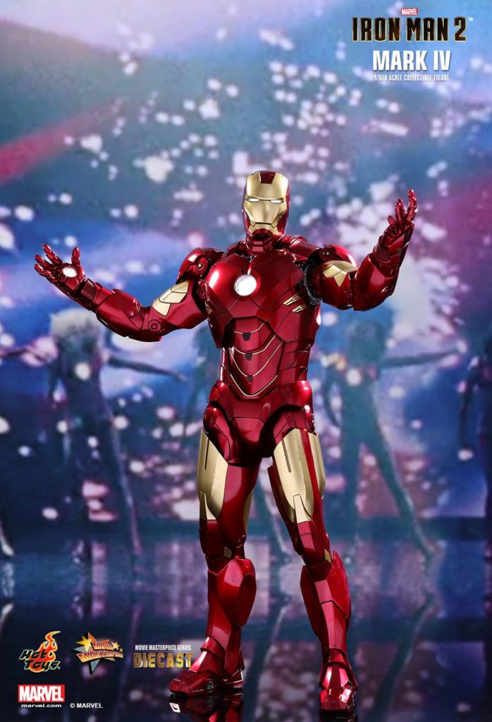 Iron Man Mark IV Armor © Hot Toys Limited