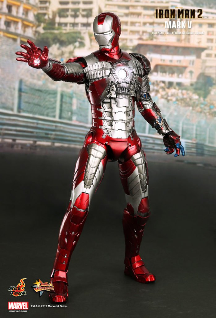 Iron Man Mark V Armor © Hot Toys Limited
