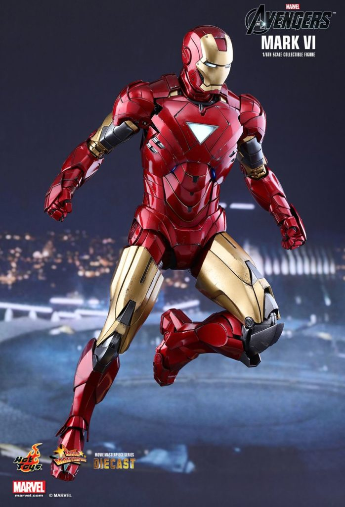 Iron Man Mark VI Armor © Hot Toys Limited