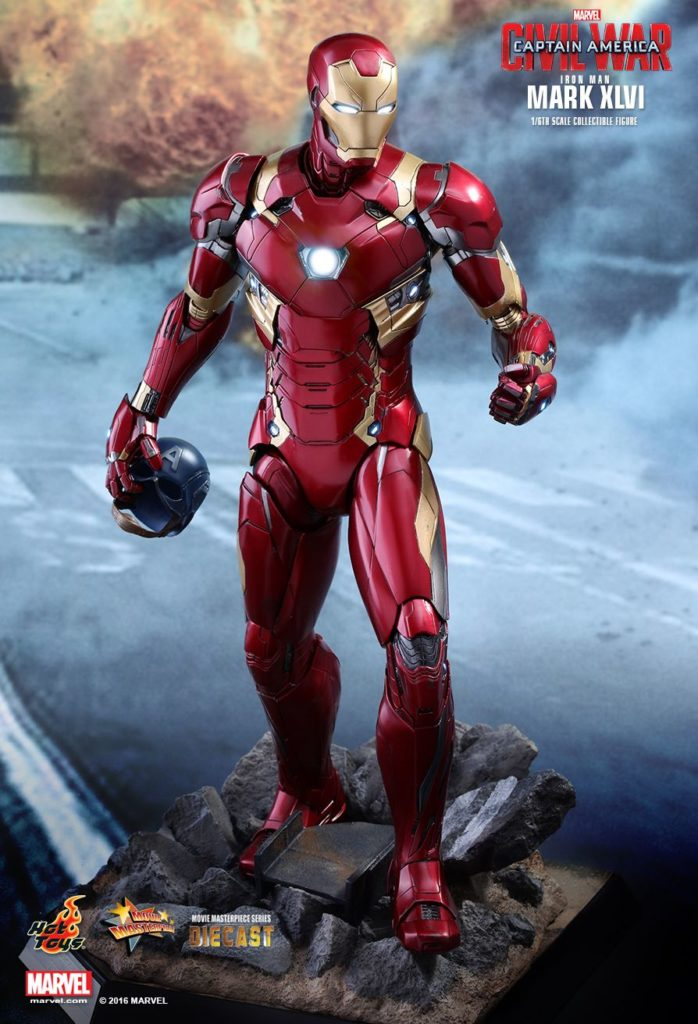 Iron Man Mark XLVI Armor © Hot Toys Limited