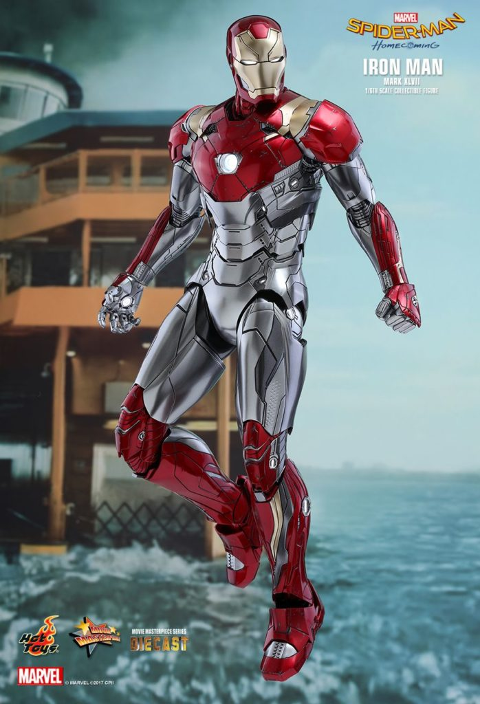 Iron Man Mark XLVII Armor © Hot Toys Limited