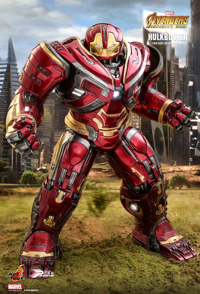 Iron Man Mark XLIX Hulkbuster Armor © Hot Toys Limited