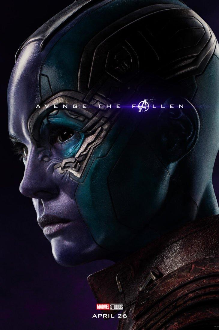 Небула Персонажный постер фильма Мстители: Финал