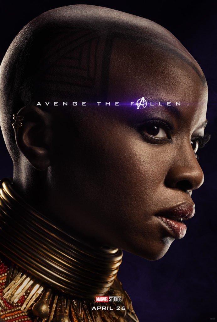 Окойе Персонажный постер фильма Мстители: Финал