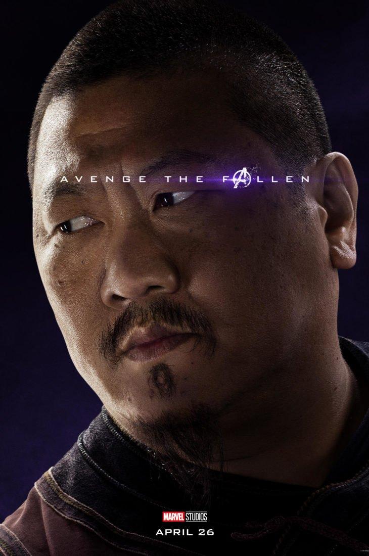 Вонг Персонажный постер фильма Мстители: Финал