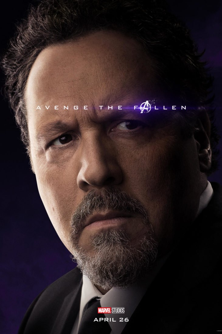 Хэппи Хоган Персонажный постер фильма Мстители: Финал