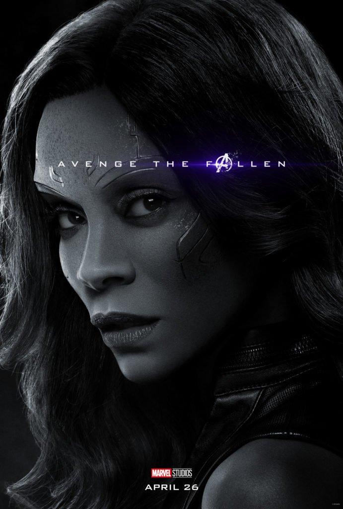 Гамора Персонажный постер фильма Мстители: Финал