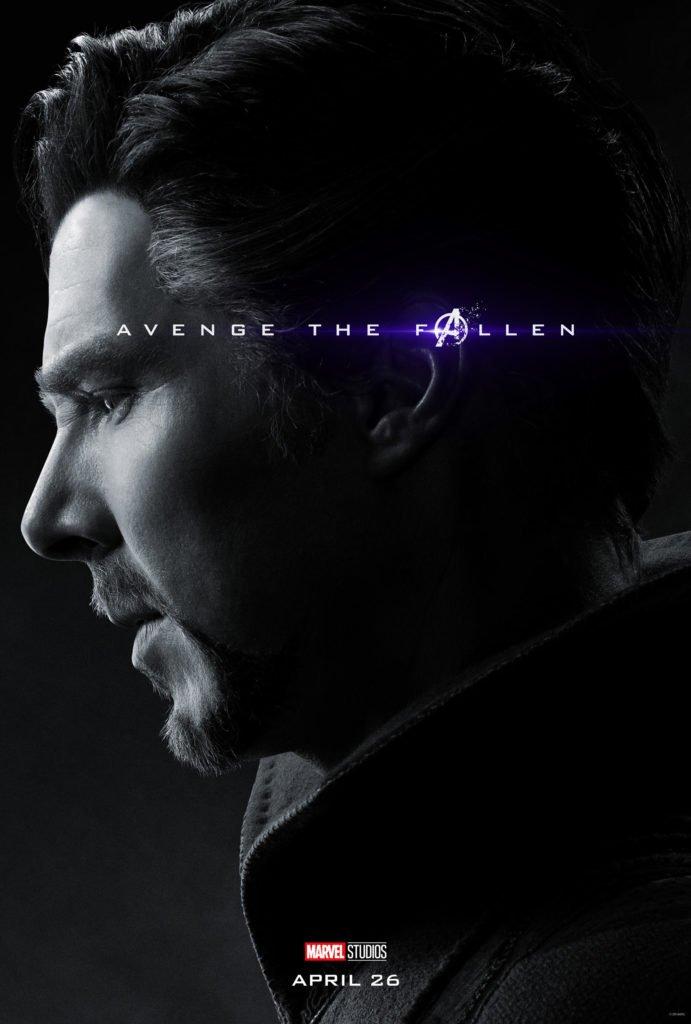 Доктор Стрэндж Персонажный постер фильма Мстители: Финал