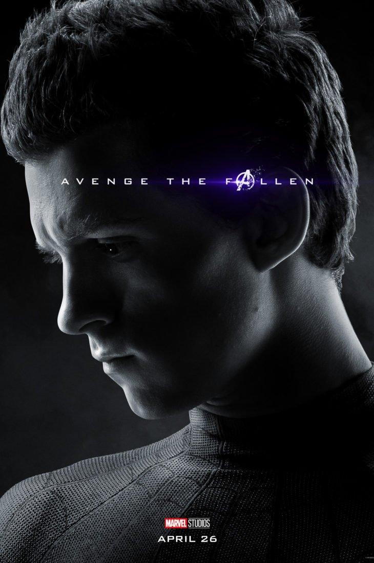 Питер Паркер - Человек-Паук Персонажный постер фильма Мстители: Финал