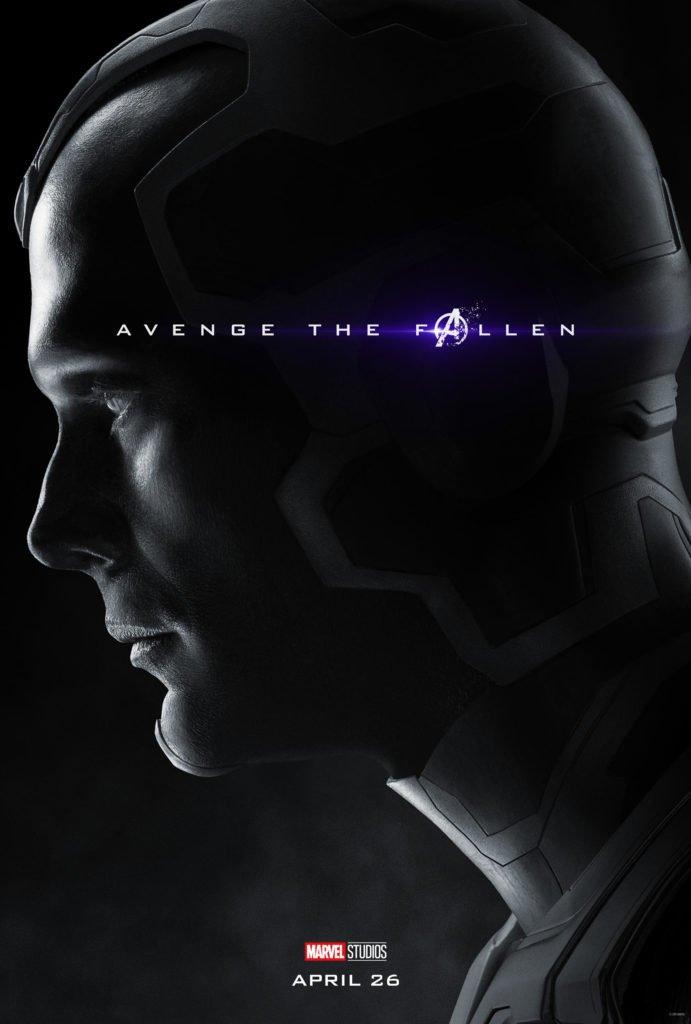 Вижен Персонажный постер фильма Мстители: Финал