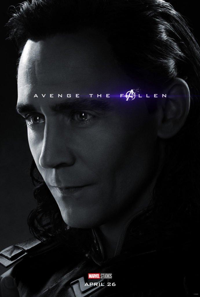 Локи Персонажный постер фильма Мстители: Финал