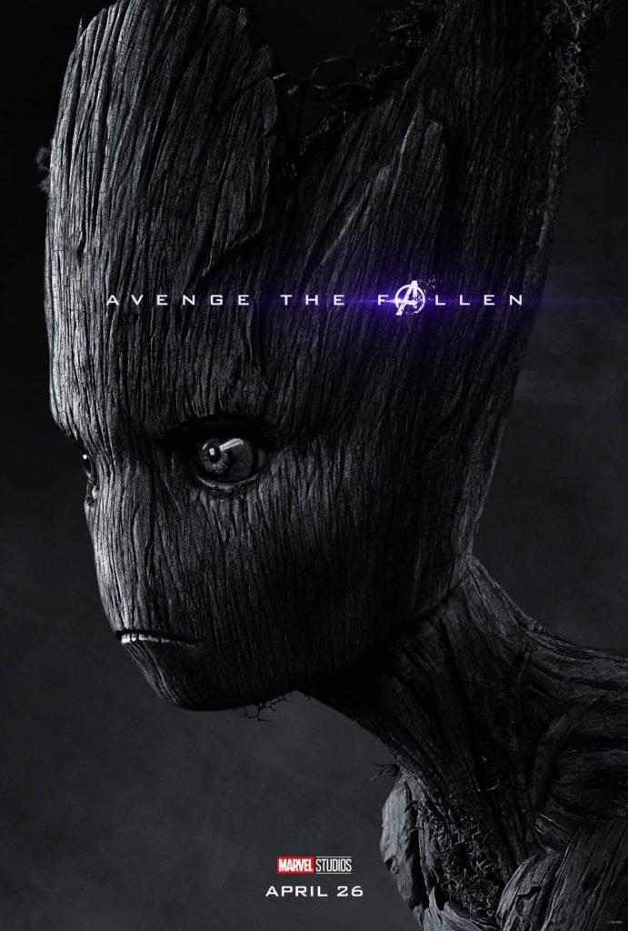 Грут Персонажный постер фильма Мстители: Финал