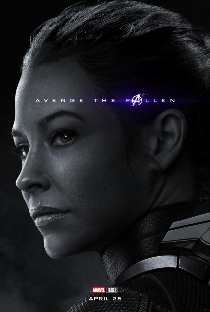 Хоуп ван Дайн - Оса Персонажный постер фильма Мстители: Финал