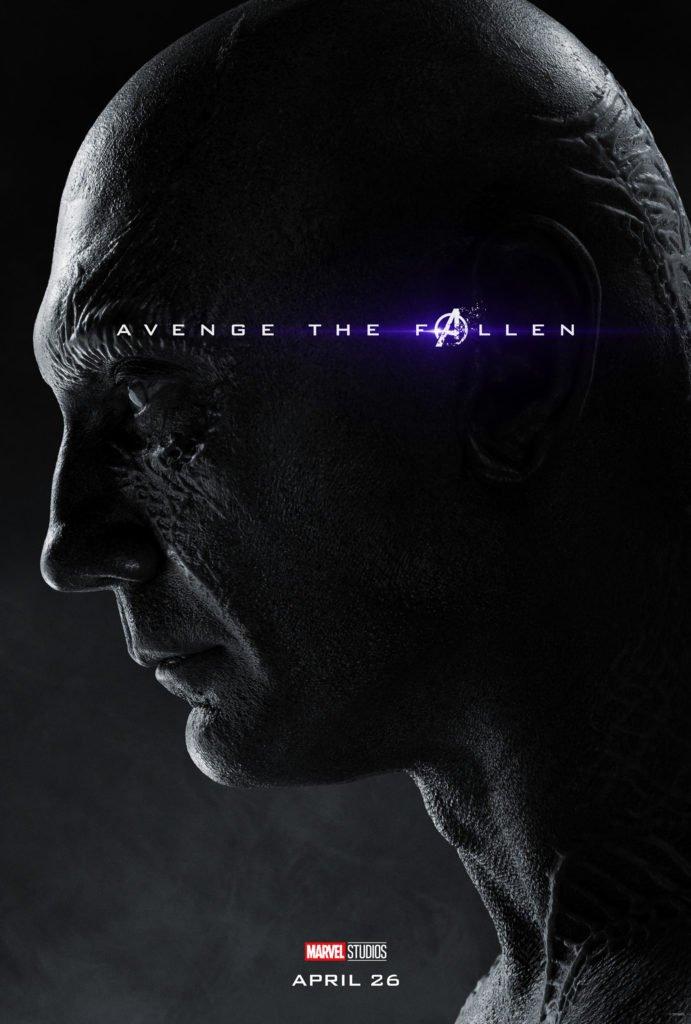 Дракс Персонажный постер фильма Мстители: Финал