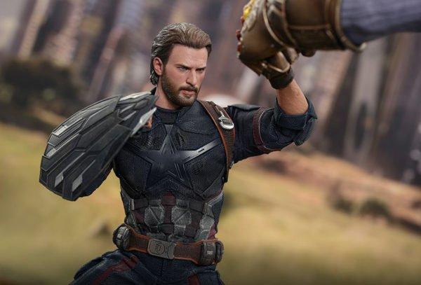 Капитан Америка Hot Toys