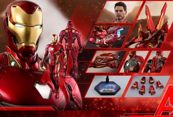 Железный Человек Hot Toys Iron Man