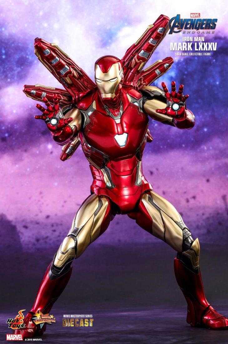 Железный Человек Марк 85 Hot Toys Мстители: Финал