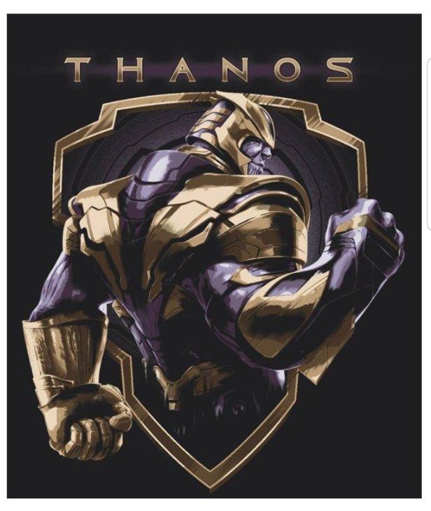 Танос Мстители: Финал промо-арт