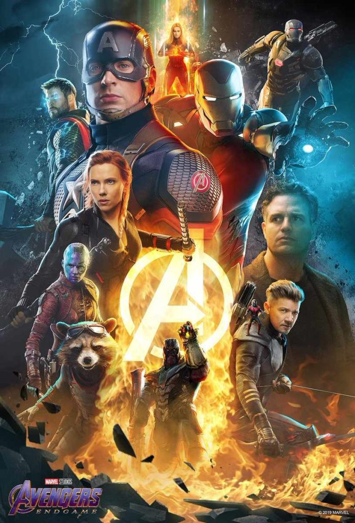 Atom Tickets Промо-постер фильма Мстители: Финал
