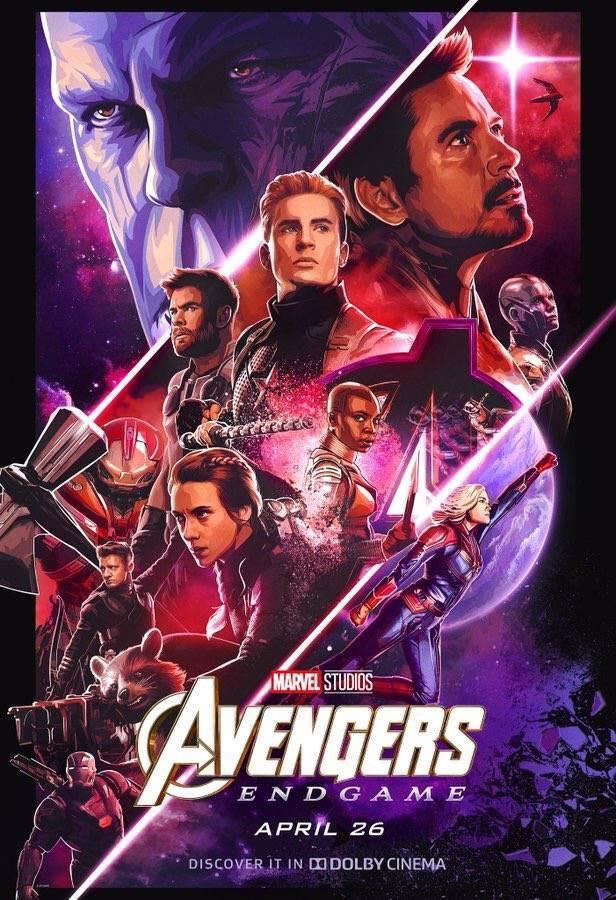Dolby Cinema Промо-постер фильма Мстители: Финал