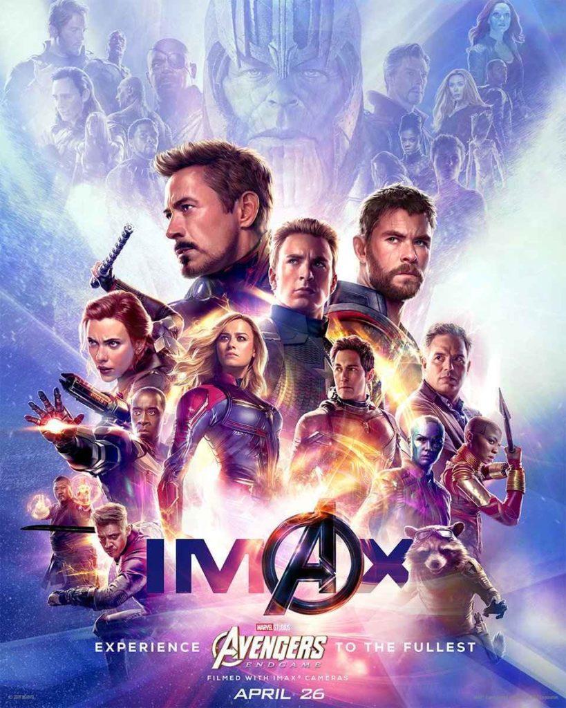 IMAX Промо-постер фильма Мстители: Финал