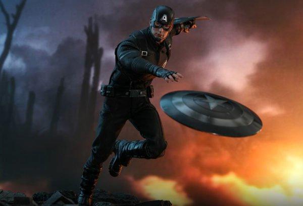 Капитан Америка концепт-арт версия Hot Toys
