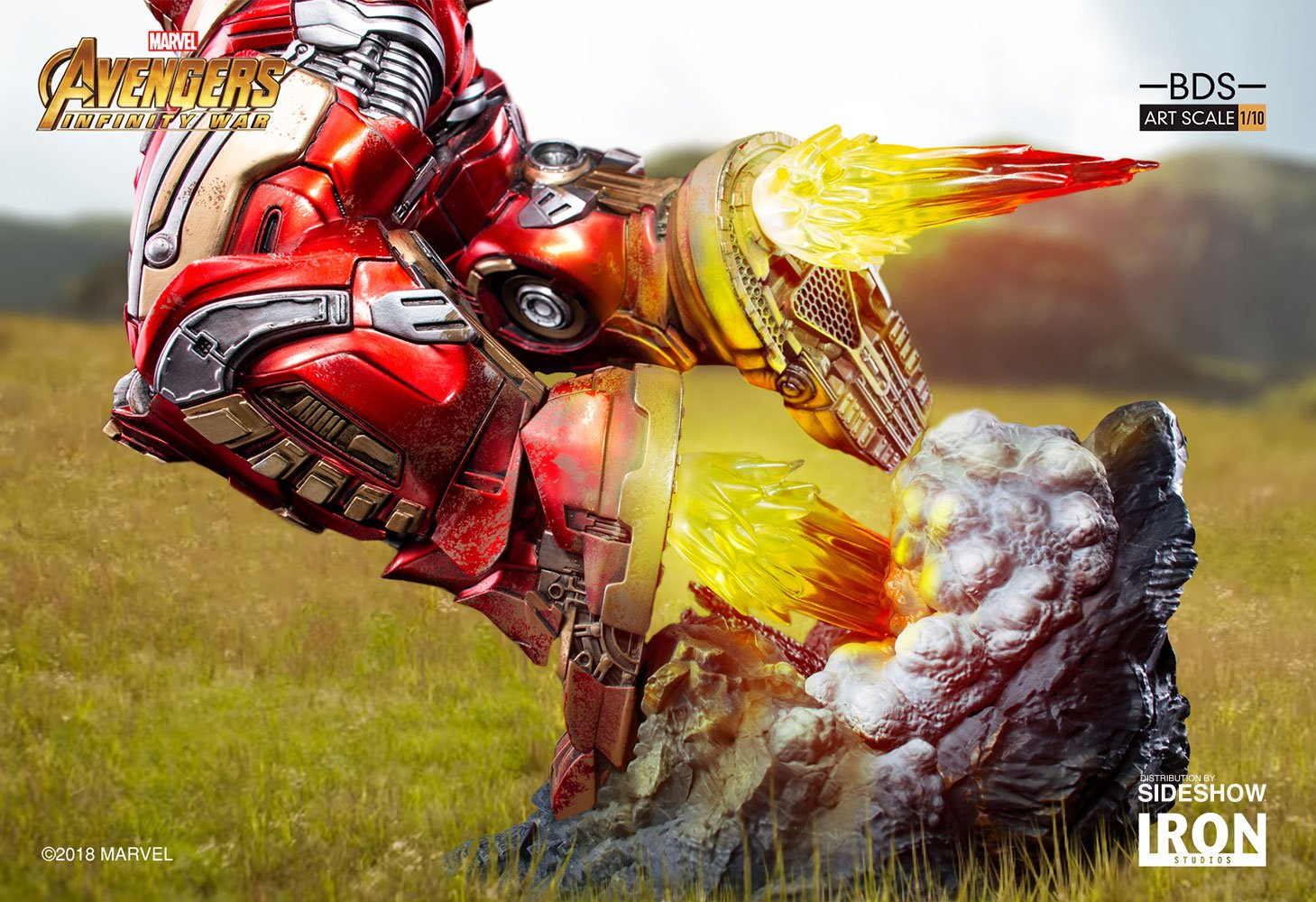 Hulkbuster Iron Studios 1/10 Scale · Статуэтка Халкбастер