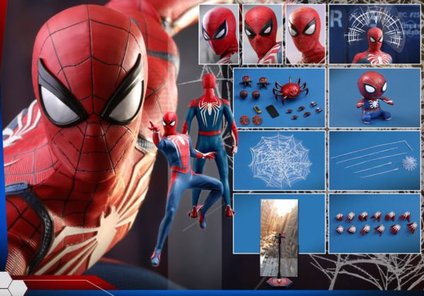 Человек-Паук усовершенствованный костюм Hot Tos